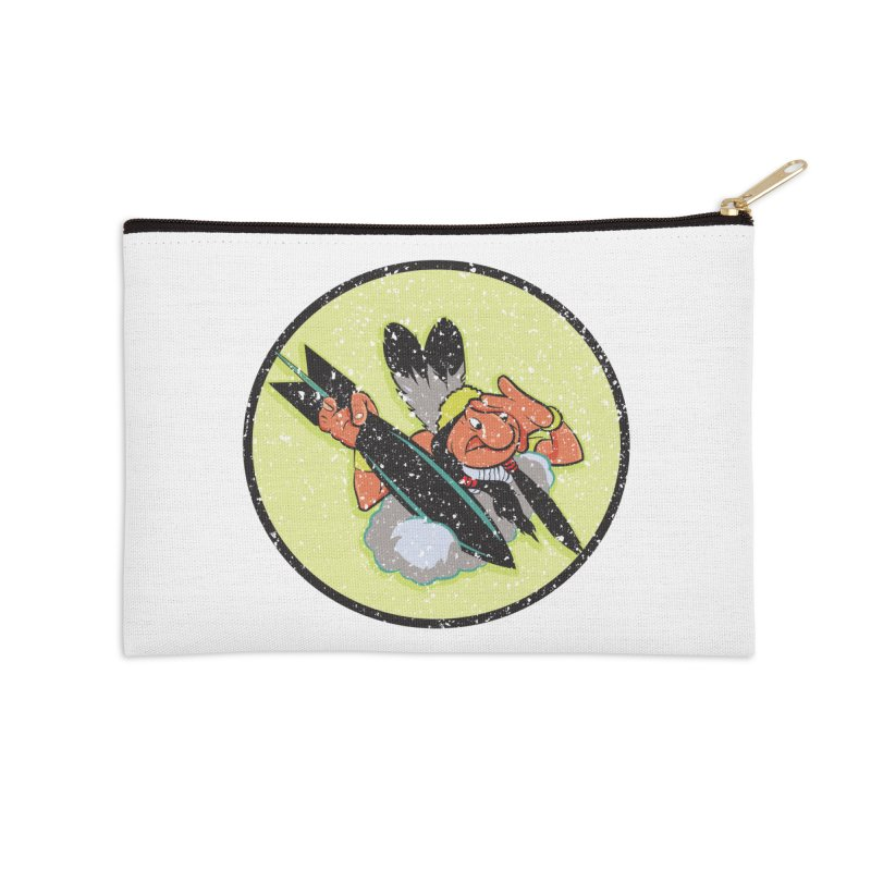 462nd bomber squadron Accessories Zip Pouch by goofyink's Artist Shop