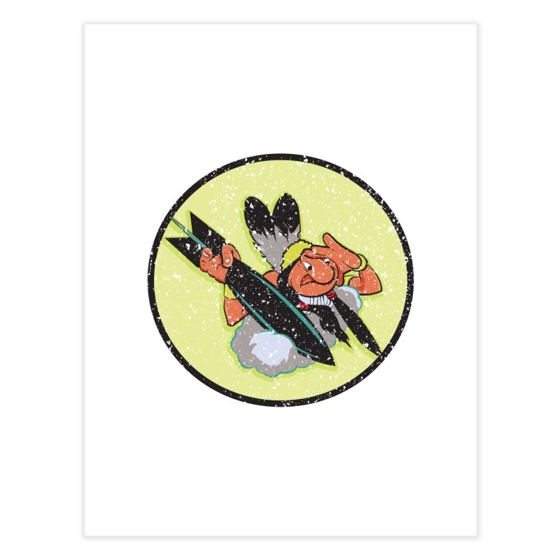 462nd bomber squadron Home Fine Art Print by goofyink's Artist Shop
