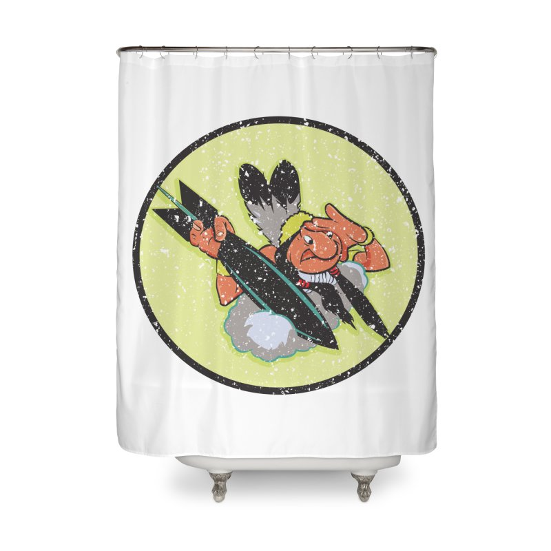 462nd bomber squadron Home Shower Curtain by goofyink's Artist Shop