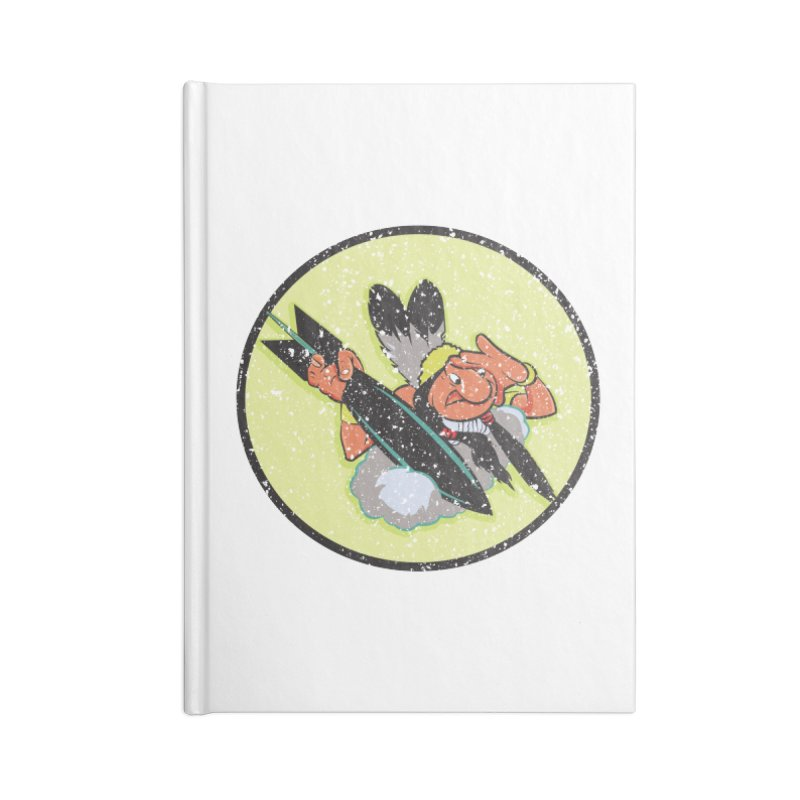 462nd bomber squadron Accessories Lined Journal Notebook by goofyink's Artist Shop