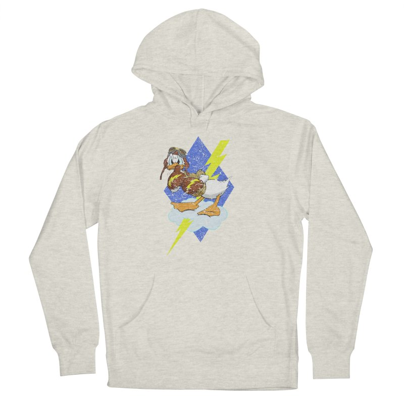 WW II  Bomber Squadron distressed design Women's Pullover Hoody by goofyink's Artist Shop