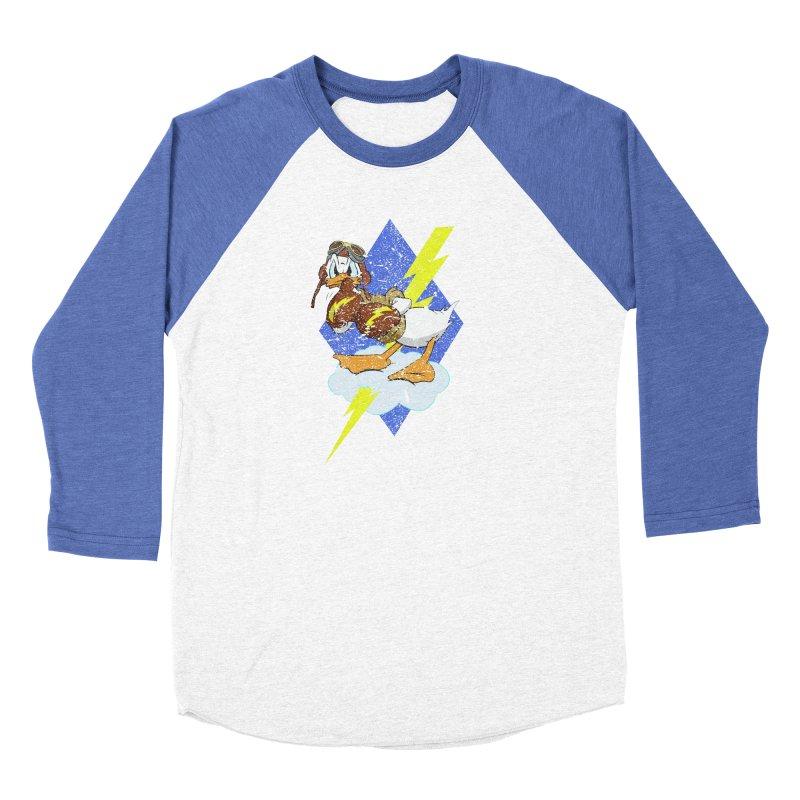 WW II  Bomber Squadron distressed design Women's Longsleeve T-Shirt by goofyink's Artist Shop