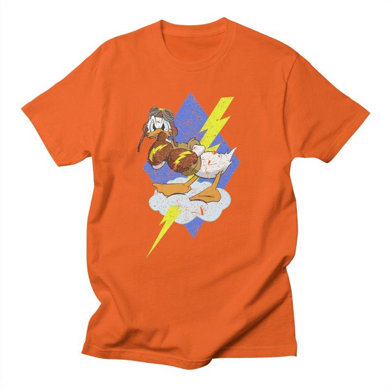 WW II  Bomber Squadron distressed design Men's Regular T-Shirt by goofyink's Artist Shop