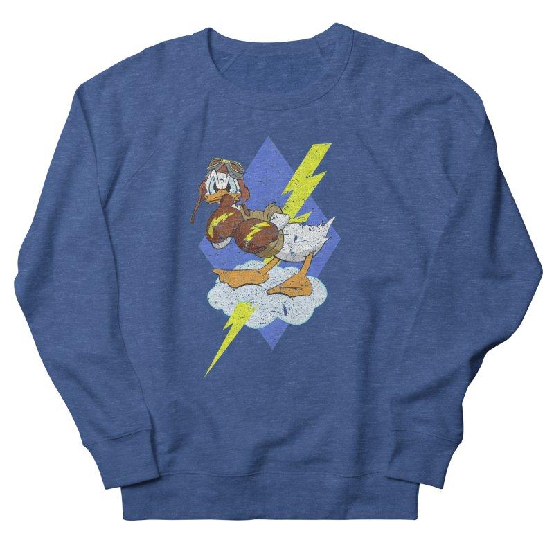 WW II  Bomber Squadron distressed design Men's Sweatshirt by goofyink's Artist Shop