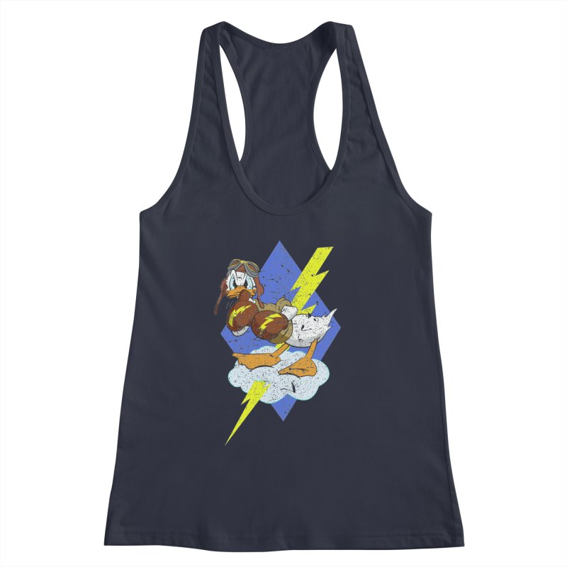 WW II  Bomber Squadron distressed design Women's Tank by goofyink's Artist Shop
