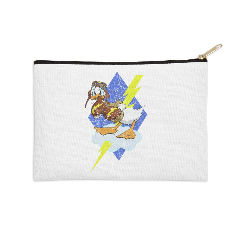 WW II  Bomber Squadron distressed design Accessories Zip Pouch by goofyink's Artist Shop