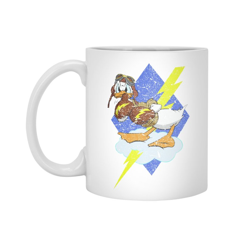 WW II  Bomber Squadron distressed design Accessories Standard Mug by goofyink's Artist Shop