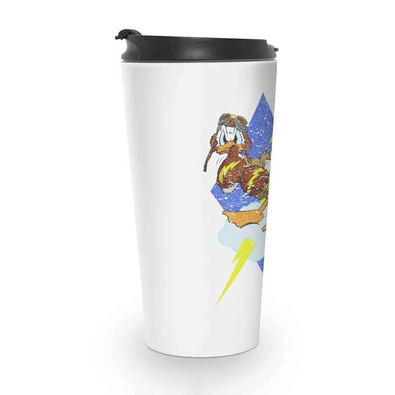 WW II  Bomber Squadron distressed design Accessories Travel Mug by goofyink's Artist Shop
