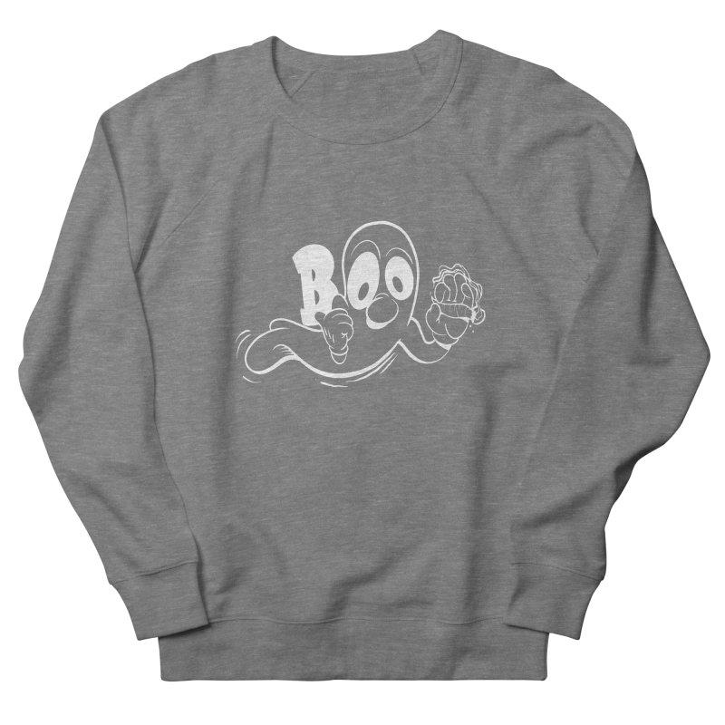 smoking ghost Women's Sweatshirt by goofyink's Artist Shop