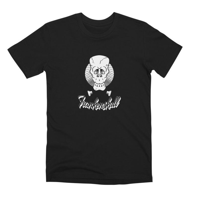 Frankenskull Men's Premium T-Shirt by goofyink's Artist Shop