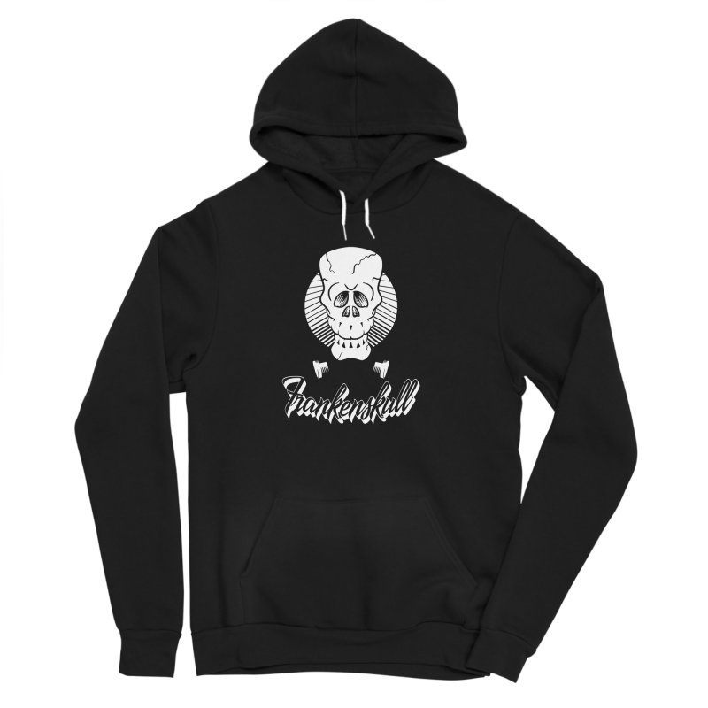 Frankenskull Men's Sponge Fleece Pullover Hoody by goofyink's Artist Shop