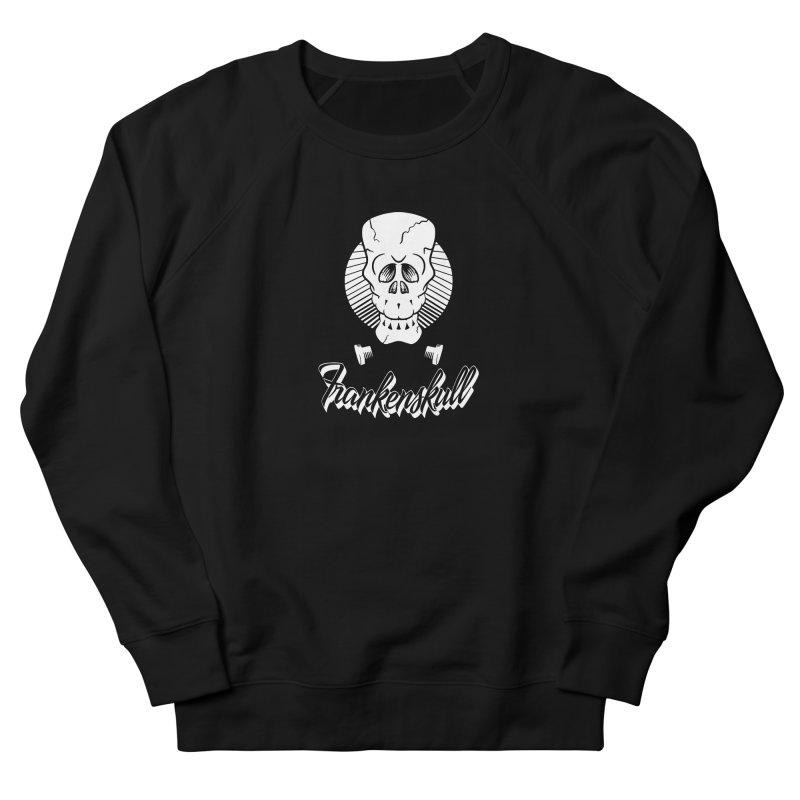 Frankenskull Men's Sweatshirt by goofyink's Artist Shop