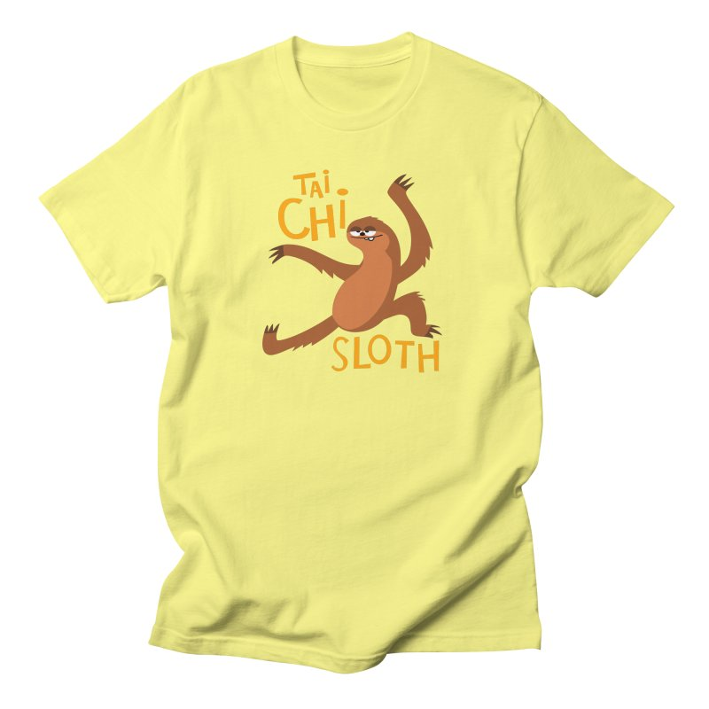 tai chi sloth Men's T-Shirt by Goopymart + Threadless