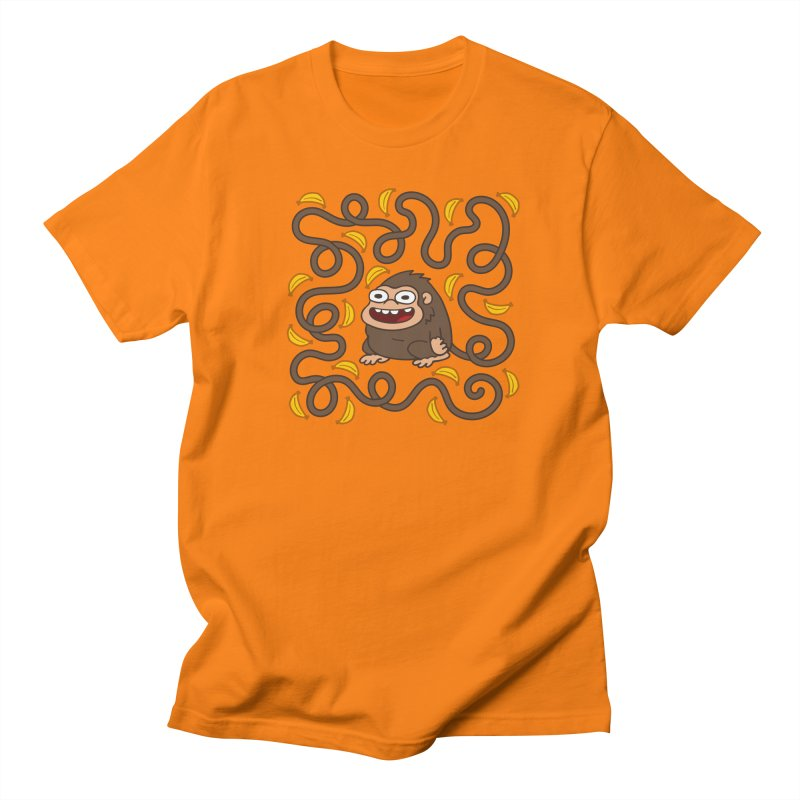 Wild Monkey Tail Men's Regular T-Shirt by Goopymart + Threadless