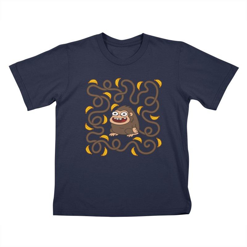 Wild Monkey Tail Kids Toddler T-Shirt by Goopymart + Threadless