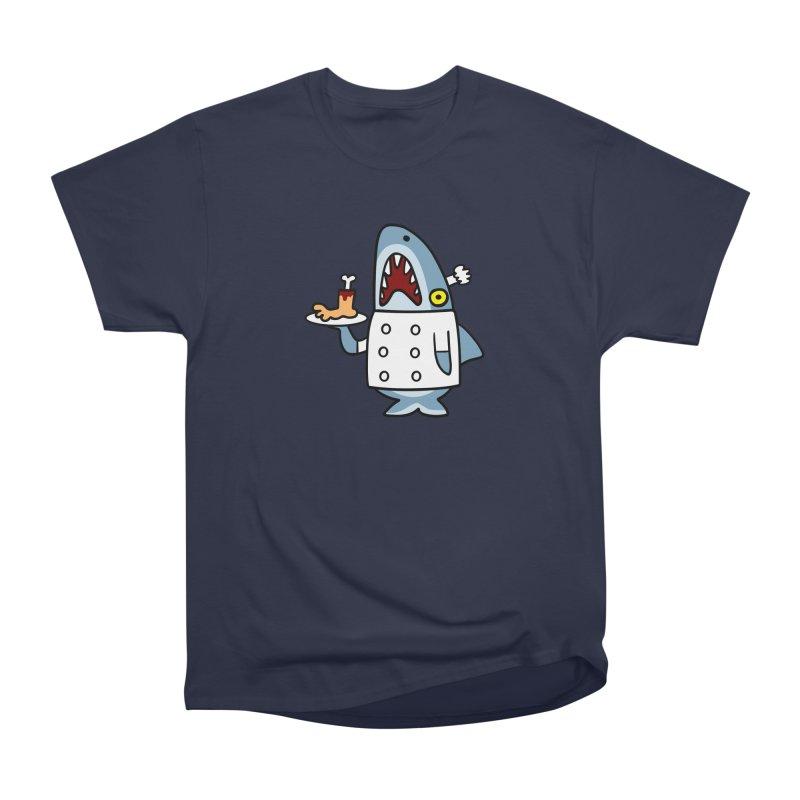 Chef Shark Women's Classic Unisex T-Shirt by Goopymart + Threadless