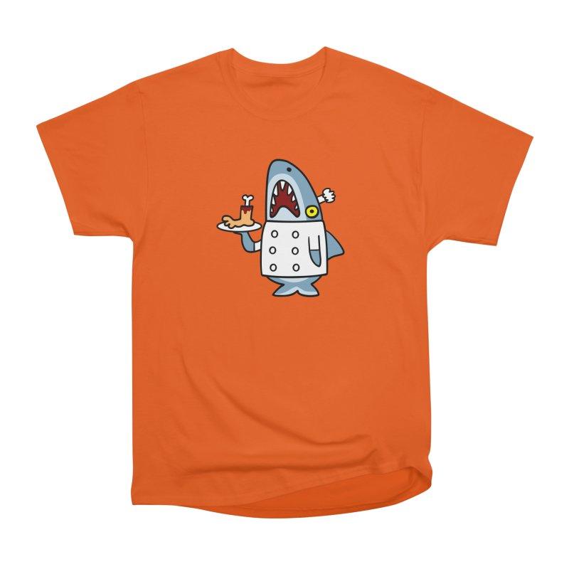 Chef Shark Women's Heavyweight Unisex T-Shirt by Goopymart + Threadless