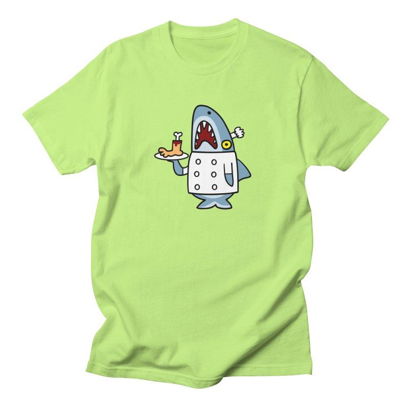 Chef Shark Men's T-Shirt by Goopymart + Threadless