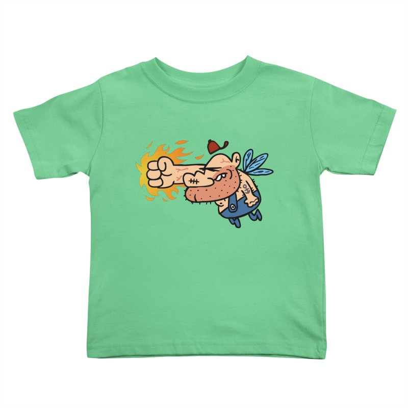 punch in the face fairy Kids Toddler T-Shirt by Goopymart + Threadless