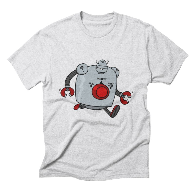 Roton the Robot Men's Triblend T-shirt by Goopymart + Threadless