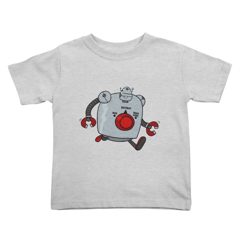 Roton the Robot Kids Toddler T-Shirt by Goopymart + Threadless