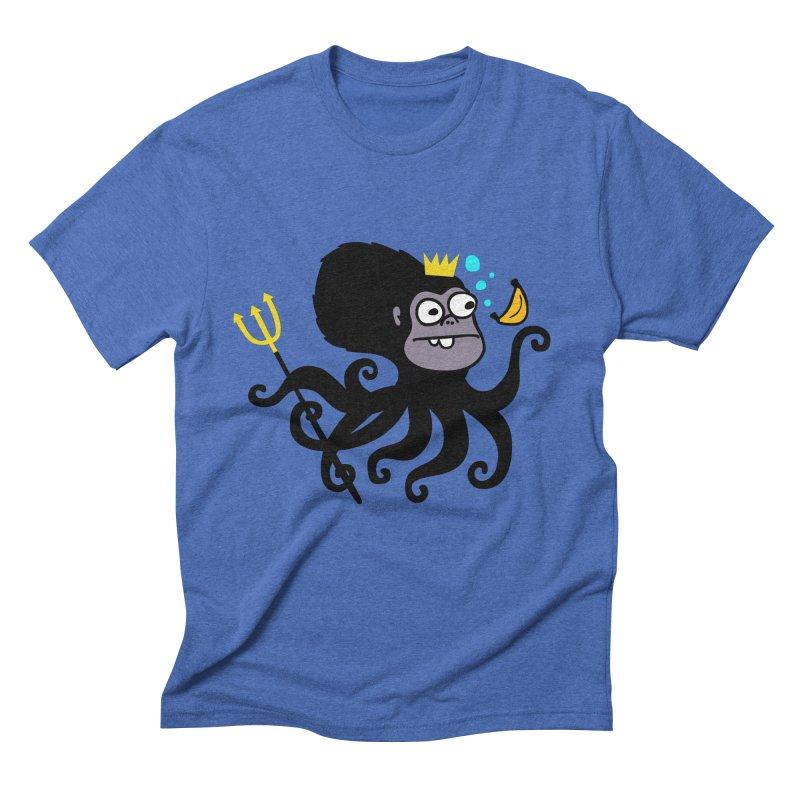 King Monkeypus Men's Triblend T-shirt by Goopymart + Threadless