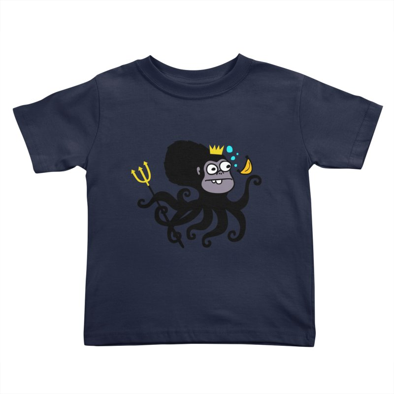 King Monkeypus Kids Toddler T-Shirt by Goopymart + Threadless