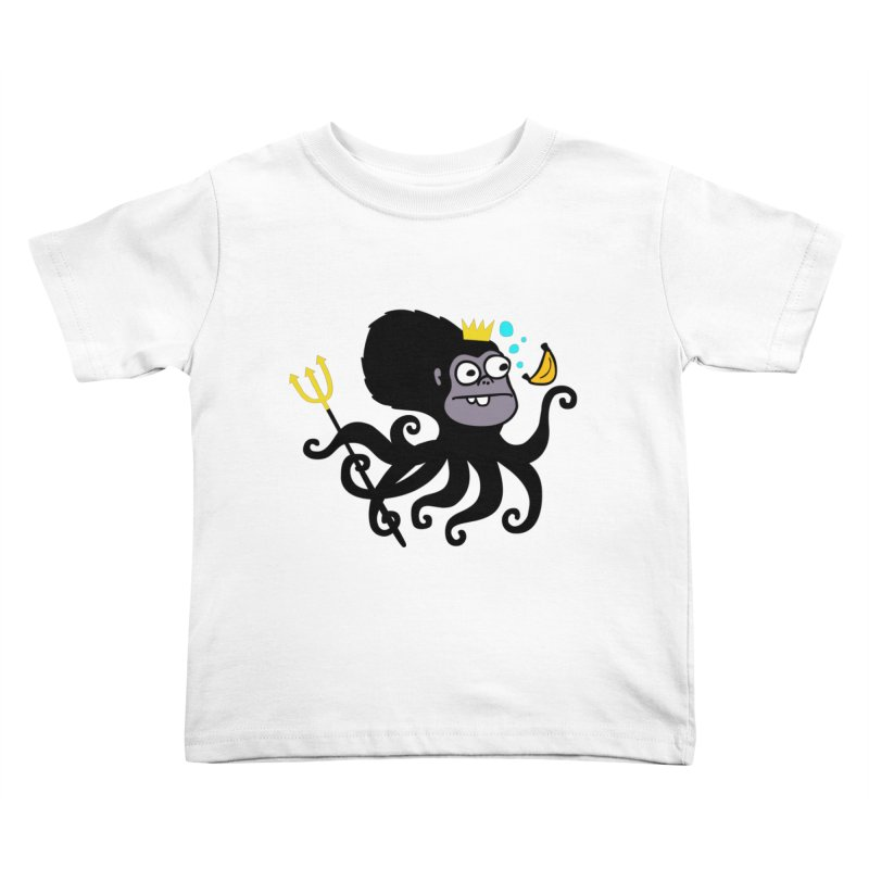 King Monkeypus Kids Toddler T-Shirt by Goopymart + Threadless
