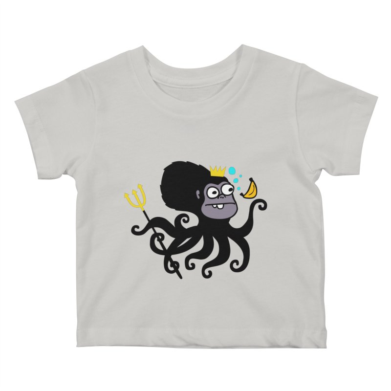 King Monkeypus Kids Baby T-Shirt by Goopymart + Threadless
