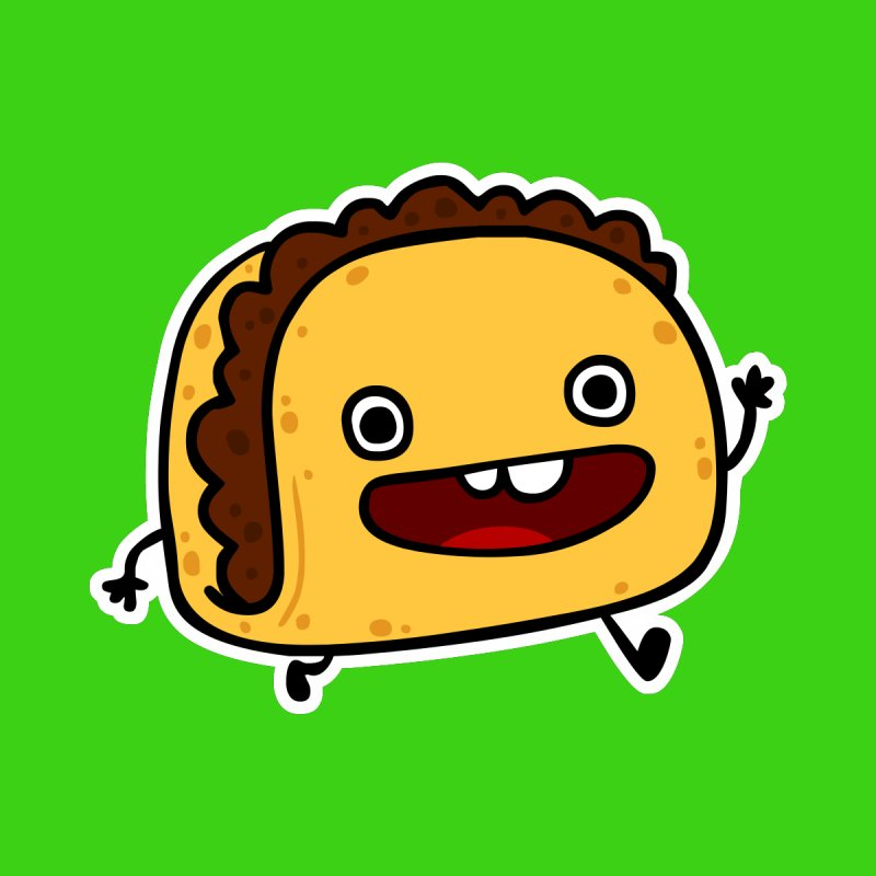 OMG TACO None  by Goopymart + Threadless