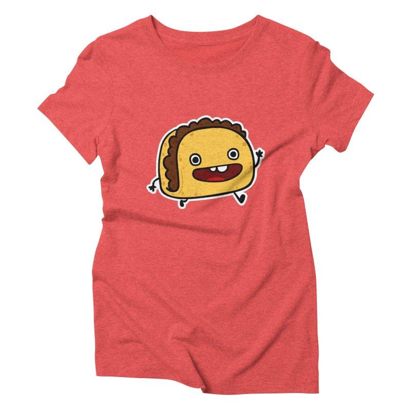OMG TACO Women's Triblend T-shirt by Goopymart + Threadless