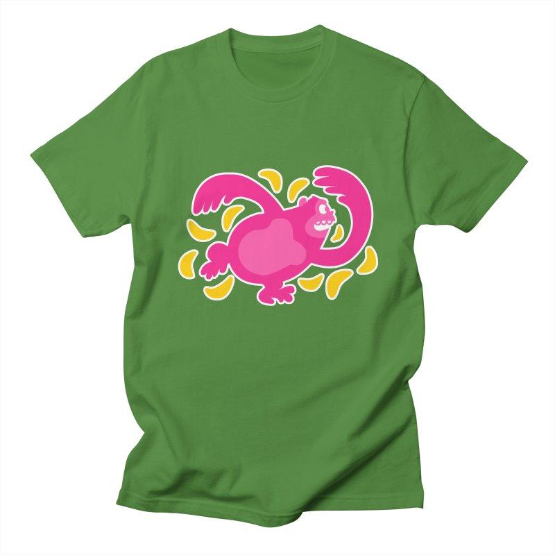 Pink Ape Men's T-Shirt by Goopymart + Threadless