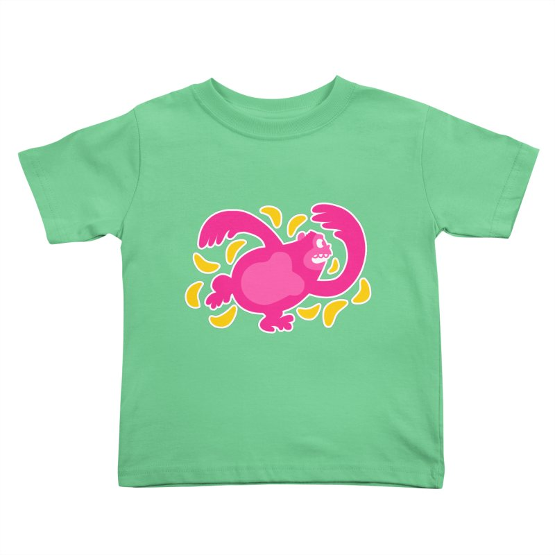 Pink Ape Kids Toddler T-Shirt by Goopymart + Threadless