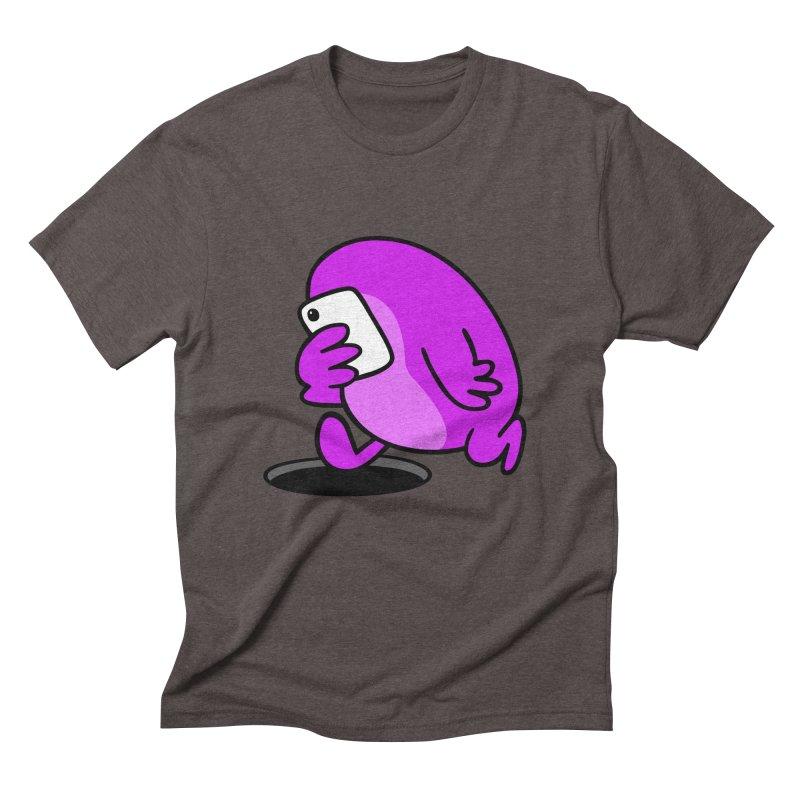 Phoneface Men's Triblend T-shirt by Goopymart + Threadless