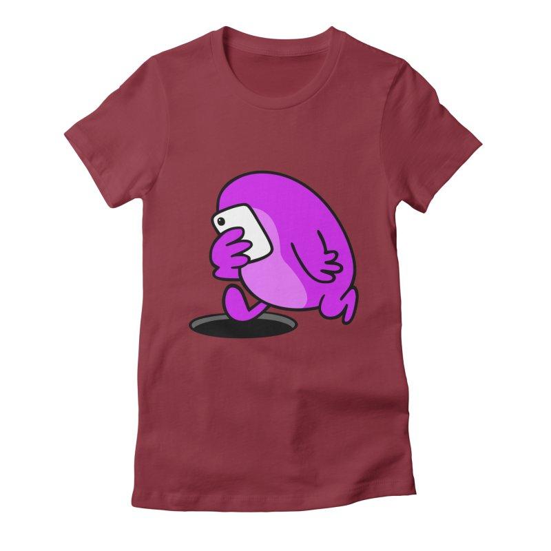 Phoneface Women's Fitted T-Shirt by Goopymart + Threadless