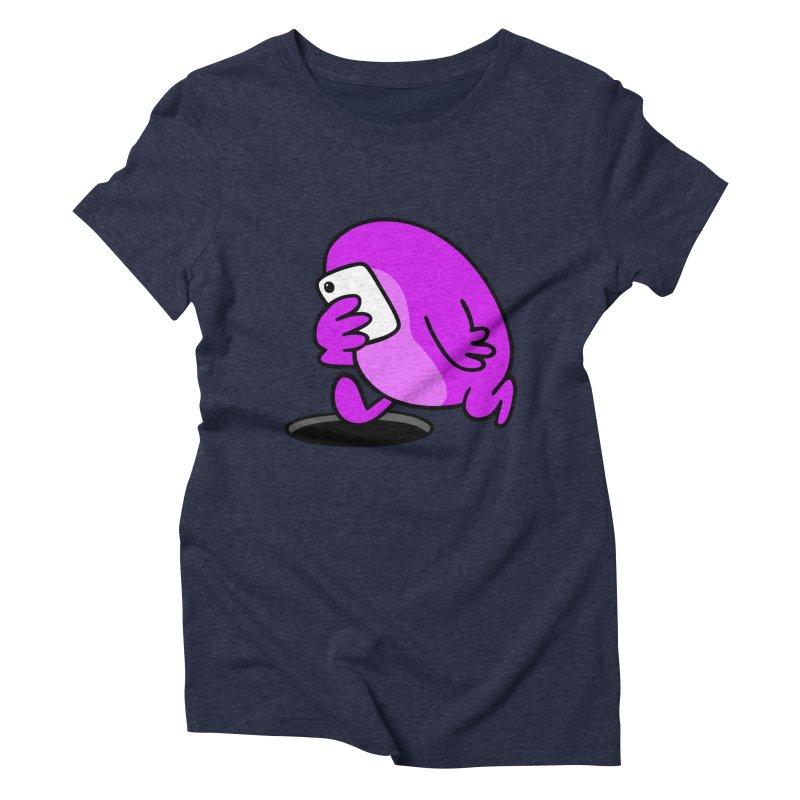 Phoneface Women's Triblend T-shirt by Goopymart + Threadless