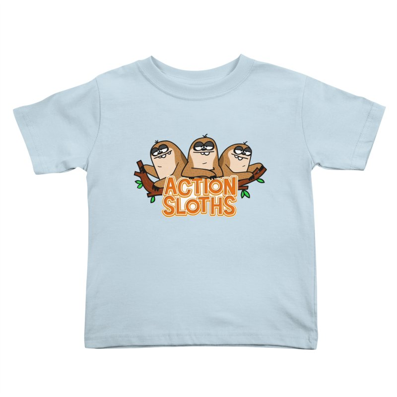 Action Sloths Kids Toddler T-Shirt by Goopymart + Threadless