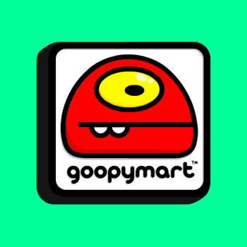Goopymart + Threadless Logo