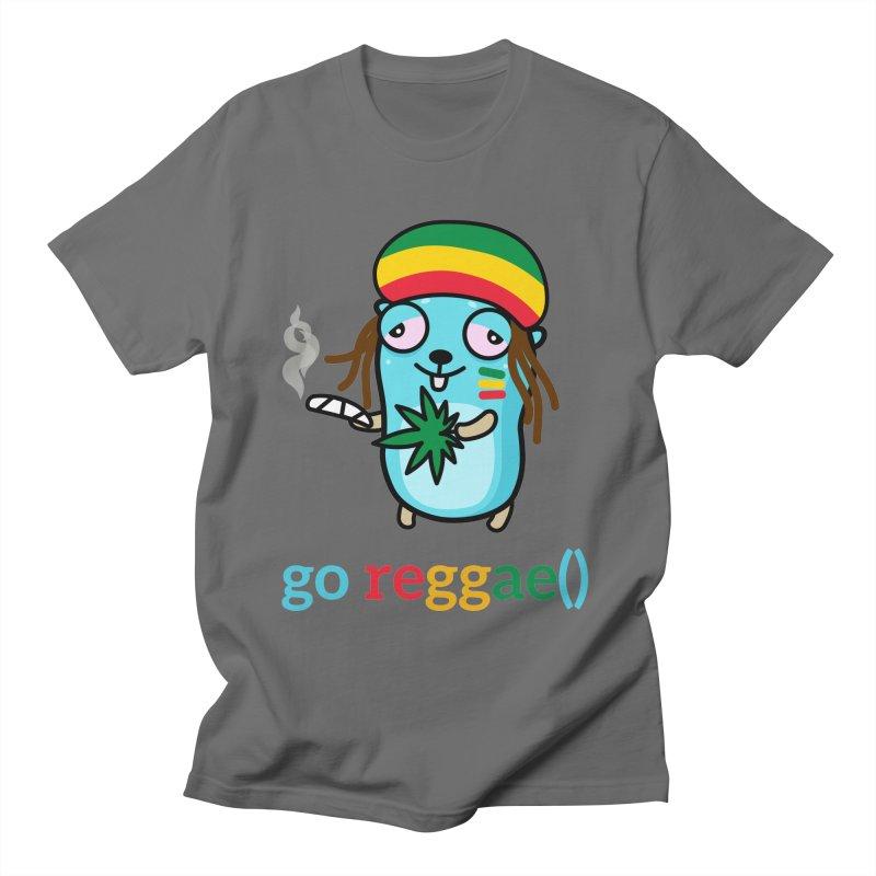 go reggae() Men's T-Shirt by Be like a Gopher