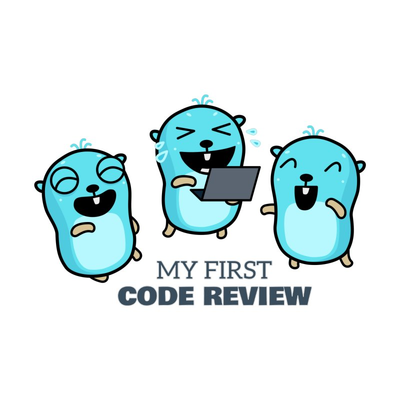 My first code review Accessories Sticker by Be like a Gopher