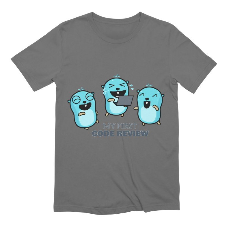 My first code review Men's T-Shirt by Be like a Gopher