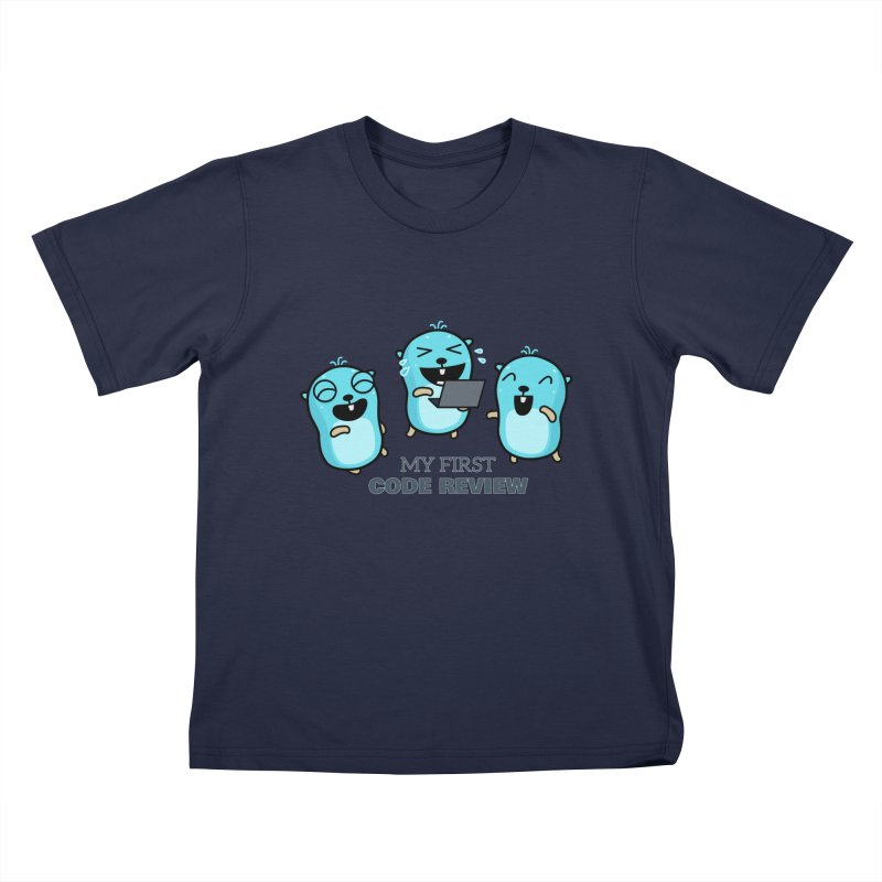 My first code review Kids T-Shirt by Be like a Gopher