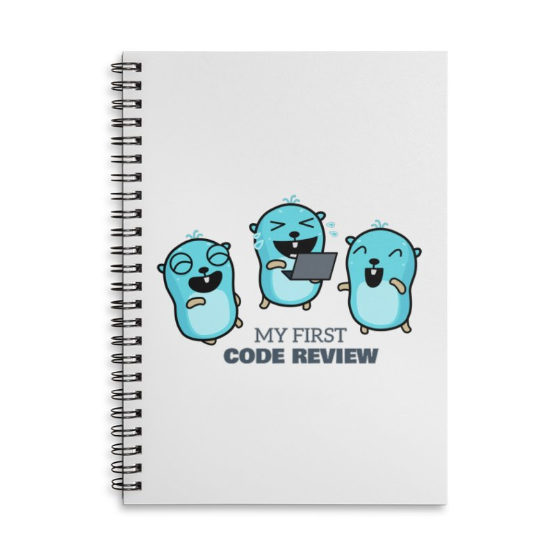 My first code review Accessories Notebook by Be like a Gopher