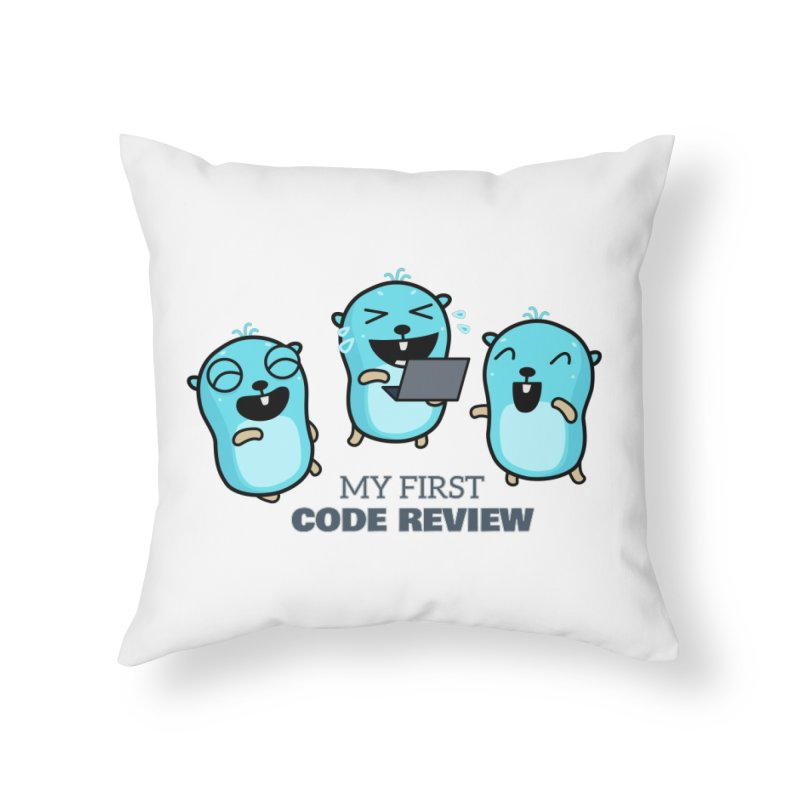 My first code review Home Throw Pillow by Be like a Gopher