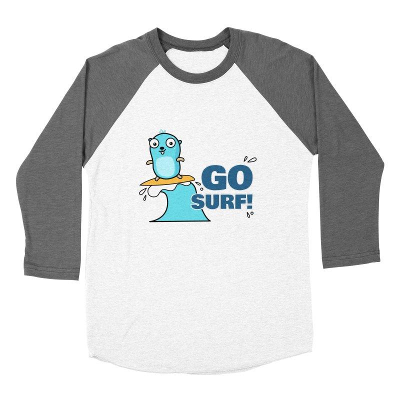 Go surf! Women's Longsleeve T-Shirt by Be like a Gopher