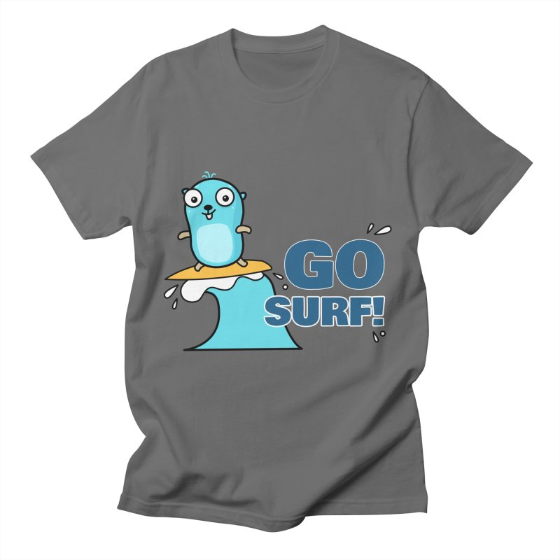 Go surf! Men's T-Shirt by Be like a Gopher