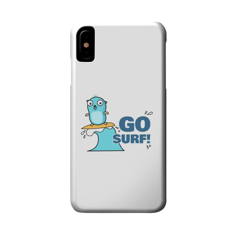 Go surf! Accessories Phone Case by Be like a Gopher