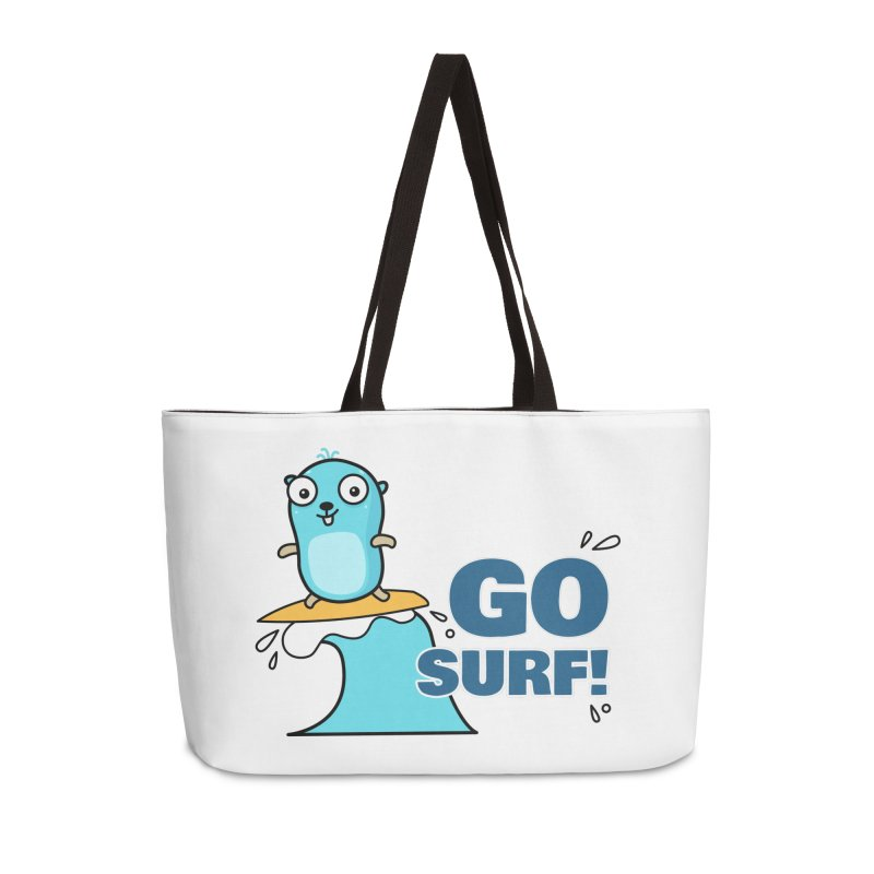Go surf! Accessories Bag by Be like a Gopher