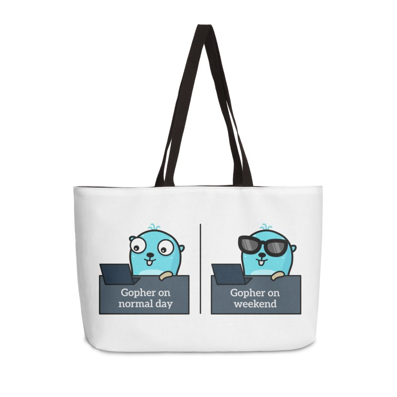 Gopher weekend and normal day Accessories Bag by Be like a Gopher