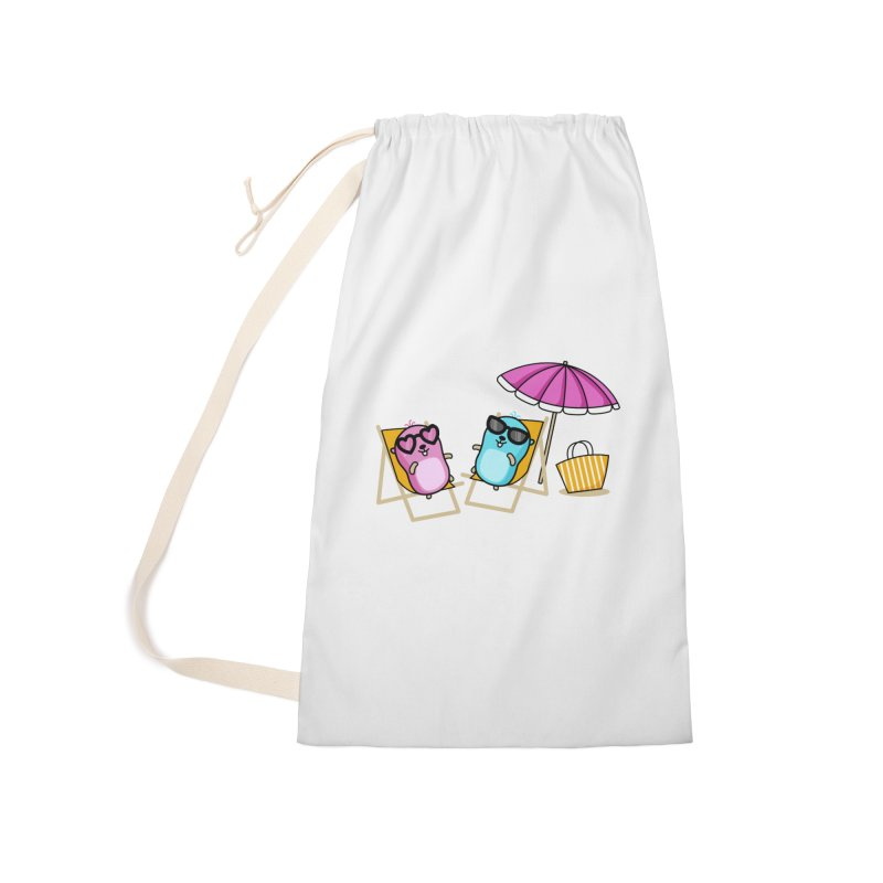 Go to beach Accessories Bag by Be like a Gopher